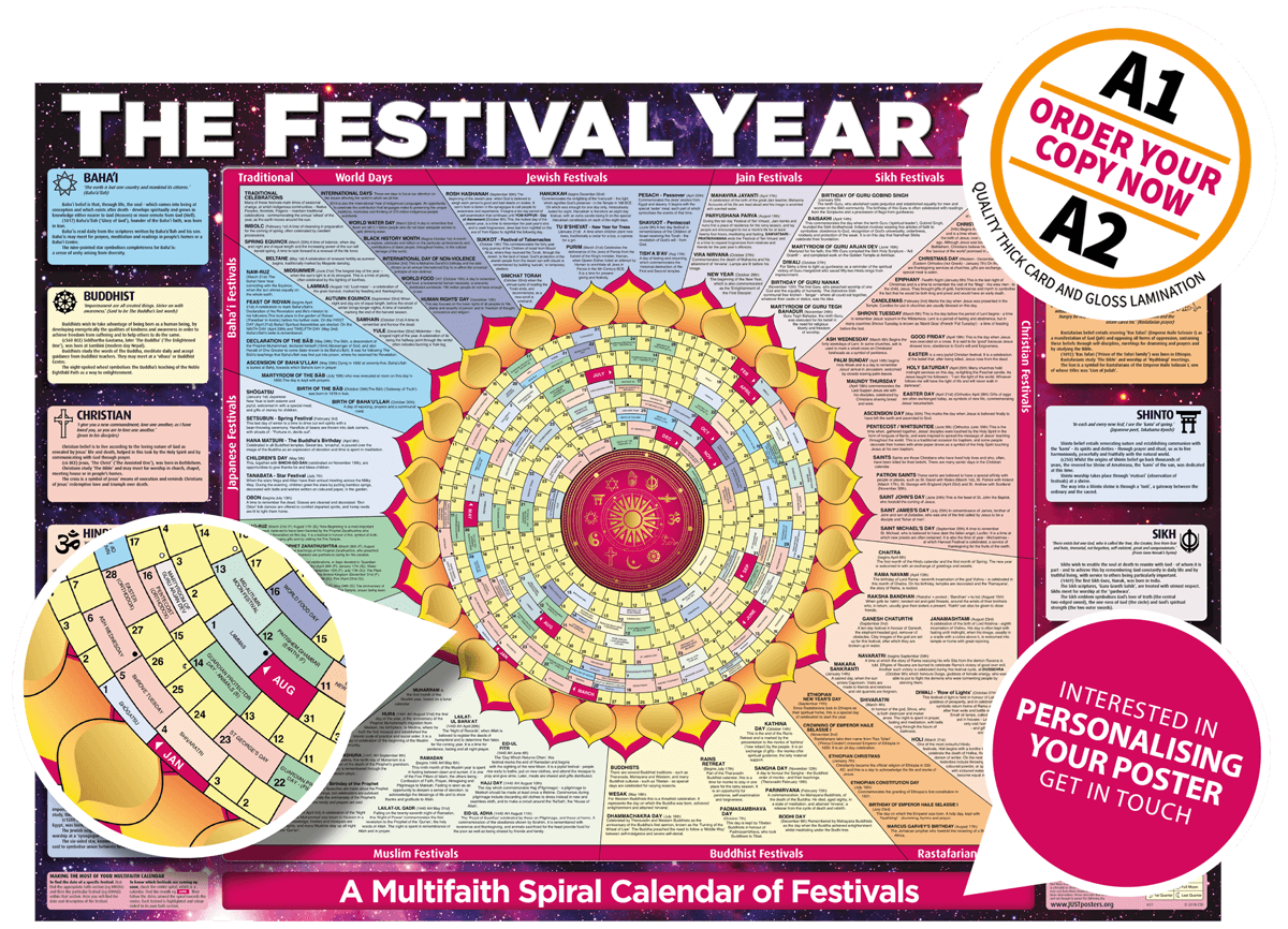 The festival year 2019 poster