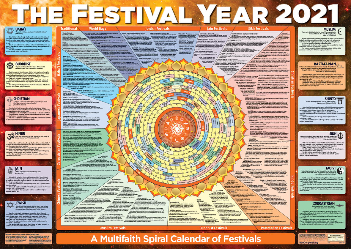 2021 The Festival Year Poster